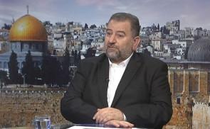 لقاء نائب رئيس حماس صالح العاروري عبر قناة الأقصى
