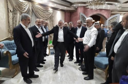 المكتب السياسي لحركة حماس يجتمع في القاهرة