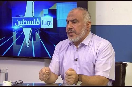 مقابلة عضو المكتب السياسي غازي حمد عبر قناة الأقصى