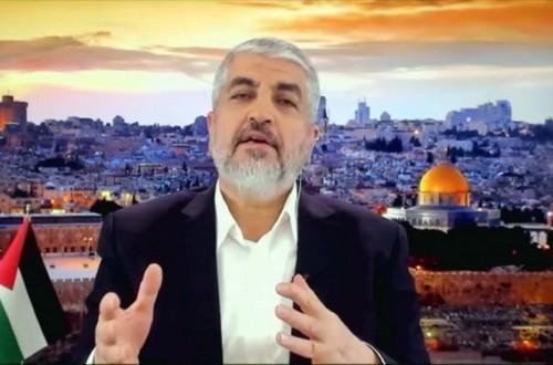لقاء خاص مع خالد مشعل حول معركة سيف القدس