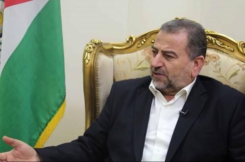لقاء خاص مع الشيخ صالح العاروري حول نتائج حوار القاهرة