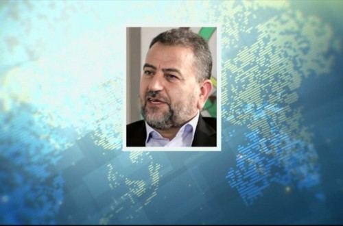 لقاء الشيخ صالح العاروري حول معركة سيف القدس