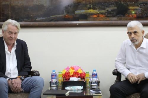 لقاء قيادة حماس مع منسق الأمم المتحدة الخاص لعملية السلام في الشرق الأوسط