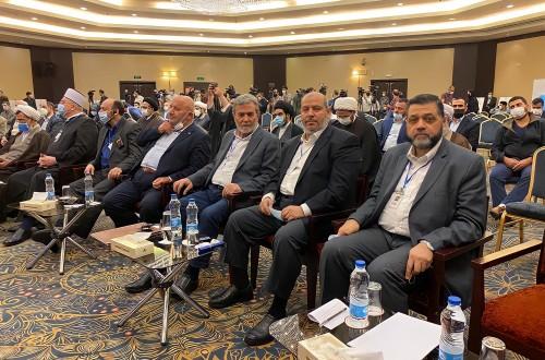 وفد حركة حماس يشارك بمؤتمر الوحدة الإسلامية بطهران